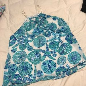 Lilly Pulitzer Tops - Lilly Pulitzer for Target starfish sand dollar top